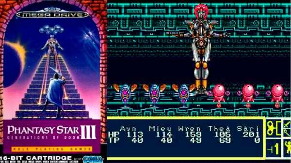 Phantasy Star 3 mega drive