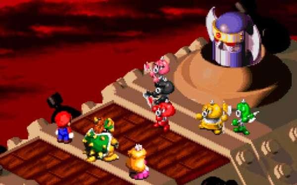 SNES Super Mario RPG Legend of the Seven Stars