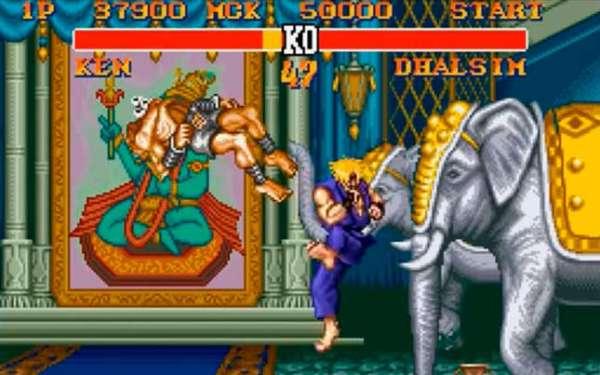 Street Fighter II Turbo Hyper Fighting snes