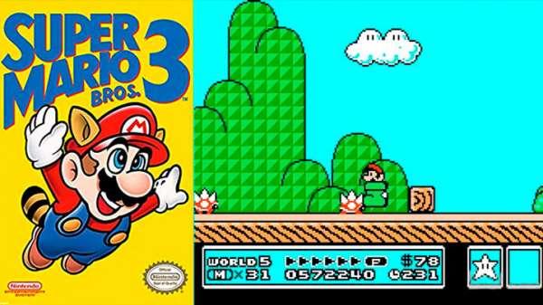Super Mario Bros 3 NES