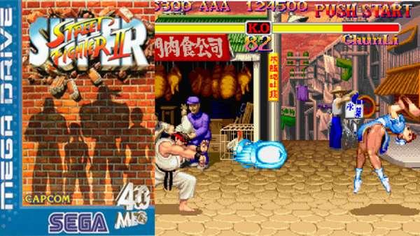 Super Street Fighter II mega drive