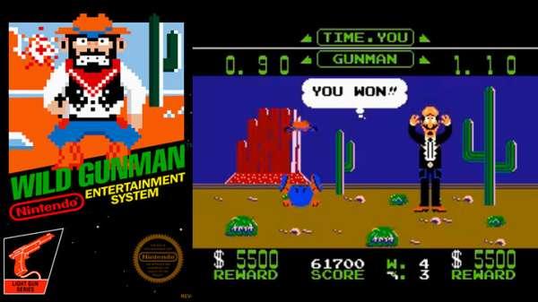 Wild Gunman NES