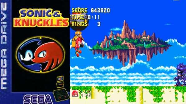 sonic knuckles mega drive