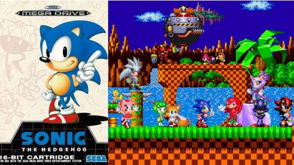 sonic the hedgehog mega drive