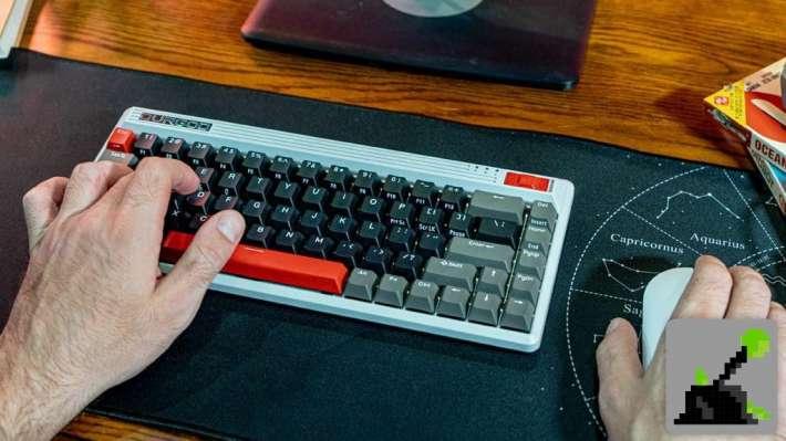 nes teclado retro