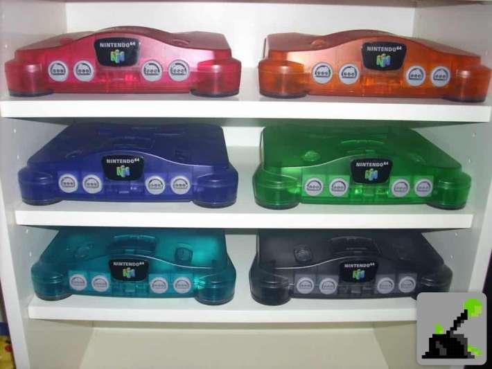 N64 Mini - ¿Podríamos ver varios colores de consola