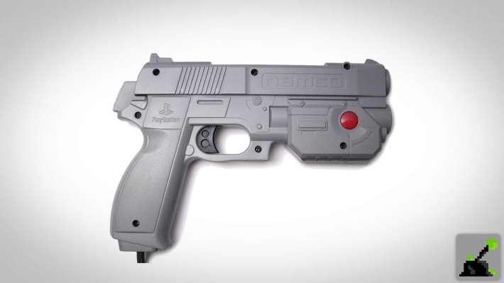 Pistola ligera PlayStation - Namco GunCon
