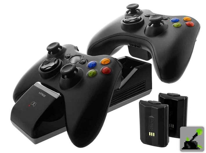 Cubierta de controlador recargable Xbox 360