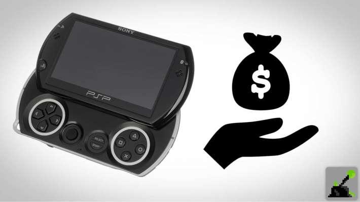 Cuánto vale un PSP Go