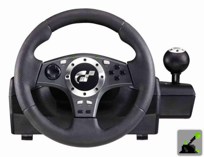 Los mejores accesorios para PS2 - Logitech Racing Wheel