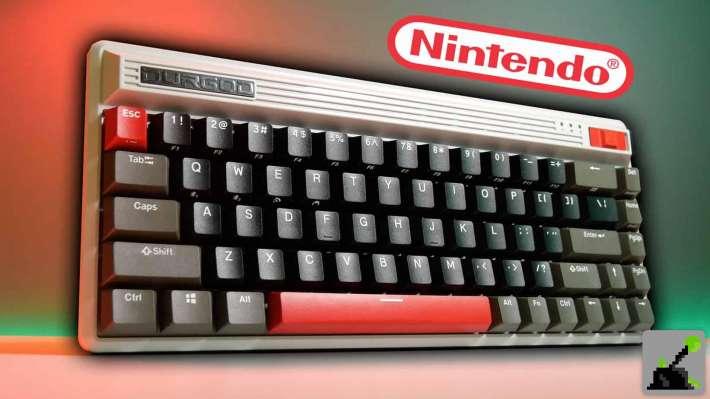 Teclado NES