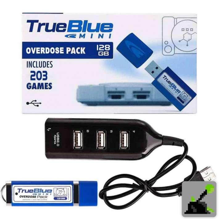 Los mejores accesorios para ps1 - True Blue juegos USB stick