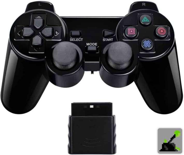 Los mejores accesorios para PS2 - Mando a distancia inalámbrico