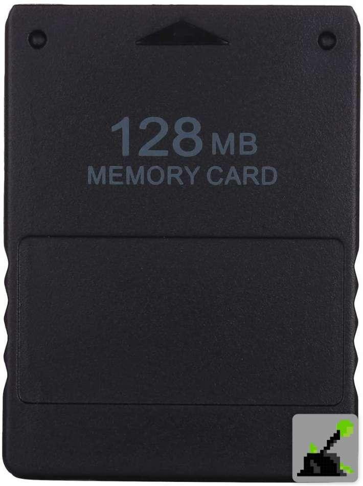 Los mejores accesorios para PS2 - tarjeta de memoria