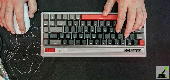 teclado retro durgod