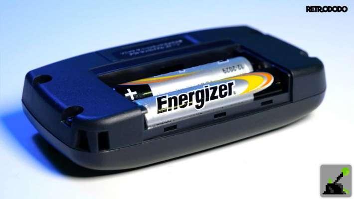 equipo de juego micro batería