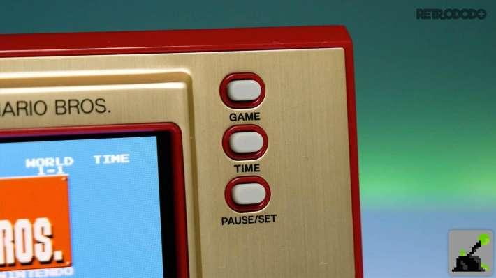 nuevo juego & botones de reloj