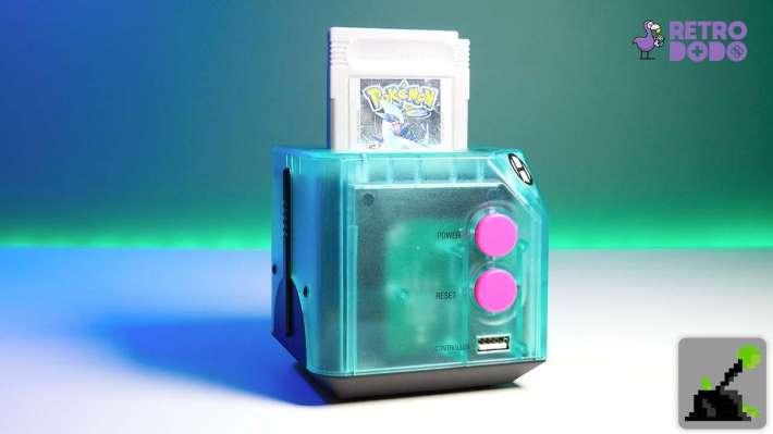 hiperkin gameboy consola pokemon