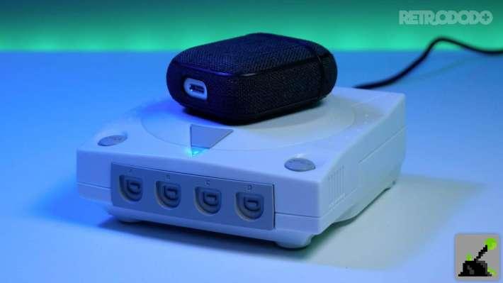 cargadores inalámbricos sega dreamcast