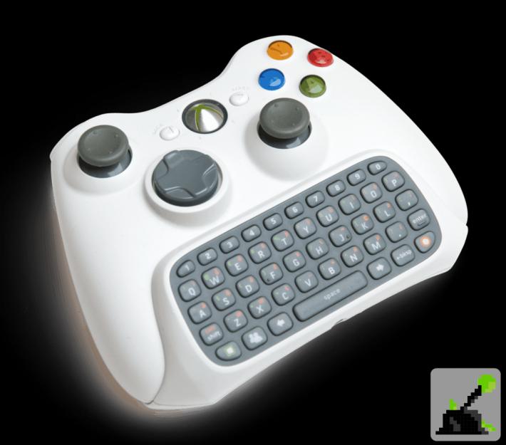 Los mejores accesorios de Xbox 360 - Teclado de mensajería de xbox 3660
